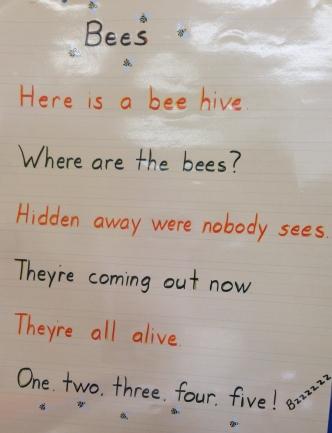 Bees Poem (K)